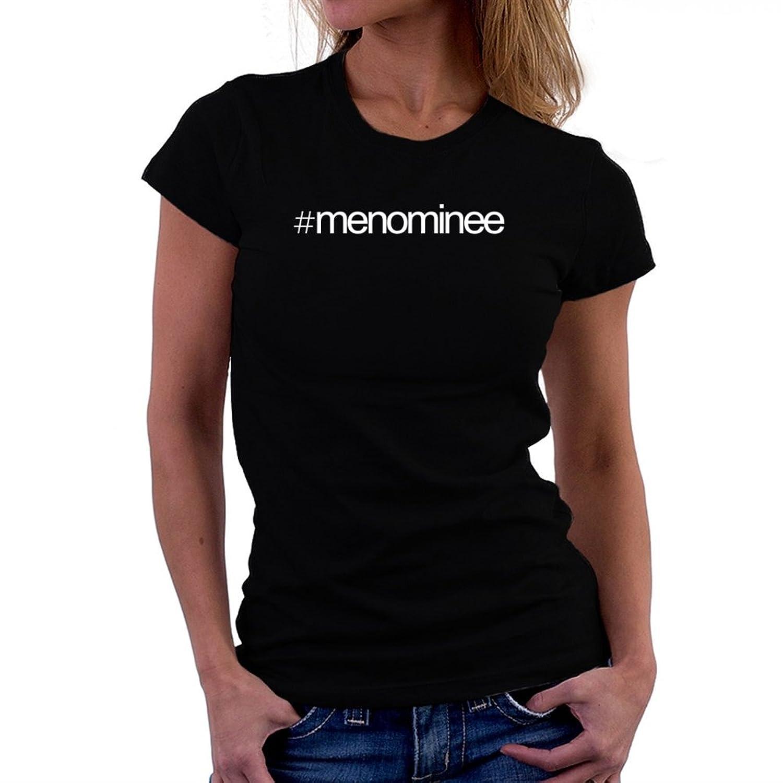 Hashtag Menominee Women T-Shirt