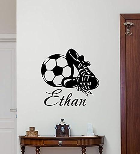 Soccer Ball Sports Teen Kids Boys Girls Room Wall Home Decor Mural Vinyl Decal