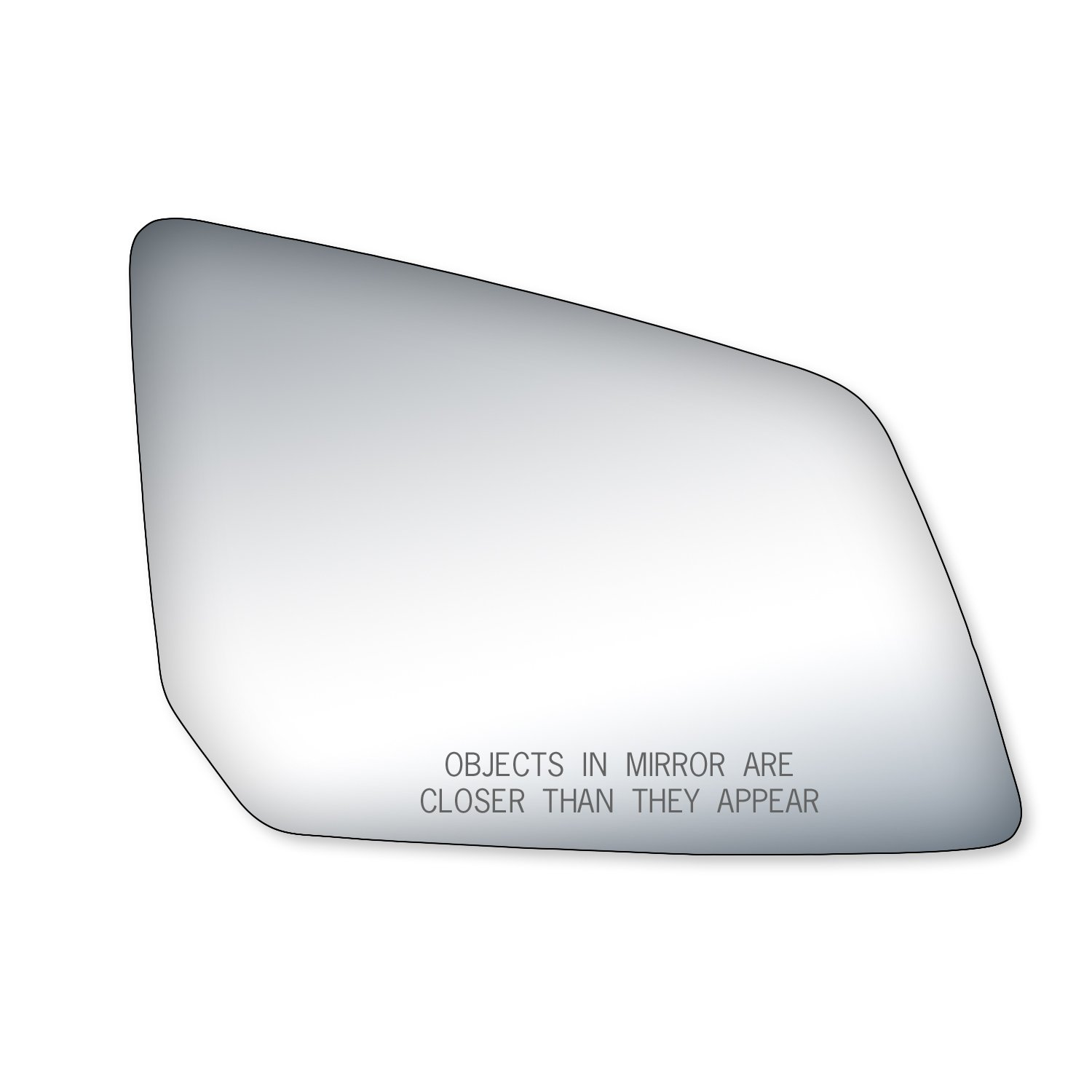 Fit System 88223 Chevrolet//GMC//Saturn Left Side Power Replacement Mirror Glass with Backing Plate