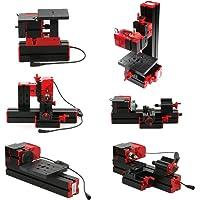 KKmoon - Mini herramienta multifuncional 6en1, sierra, fresadora