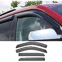 14-15 Chevy Silverado 1500 Chrome Bug Shield Deflector+Window Visor Shade Wind