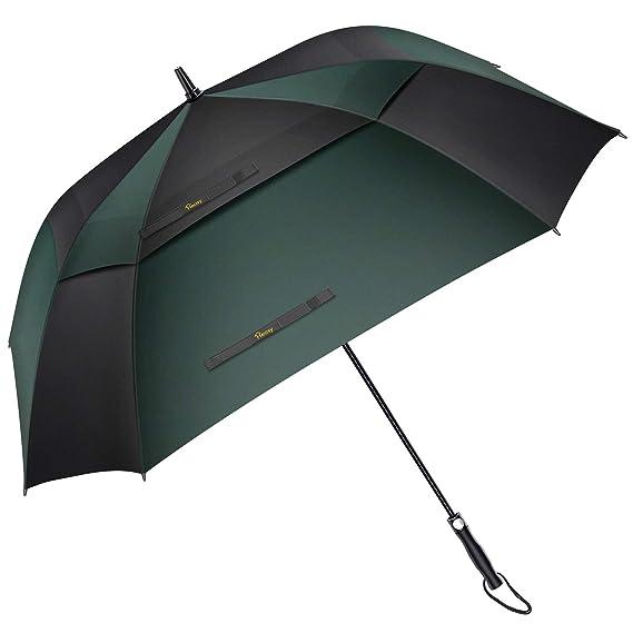 Amazon.com: Heasy - Paraguas de golf extragrande de 54/62 ...