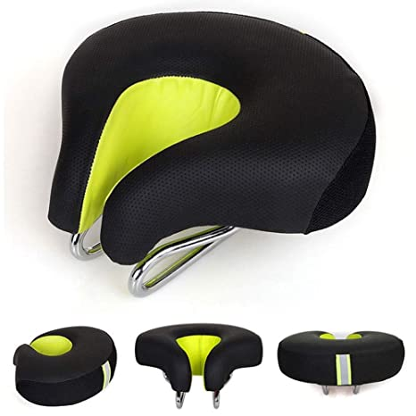 Comfortable Soft Bike Outdoors Exercise Schwinn No Pressure Bicycle Seat