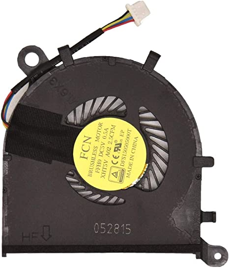new original for dell XPS13 9350 9360 seires fan P54G 0XHT5V DC28000F2F0