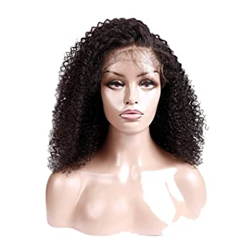 Lace Front Wigs For Black Women 150% Density Remy Human Hair Pre Plucked With Baby