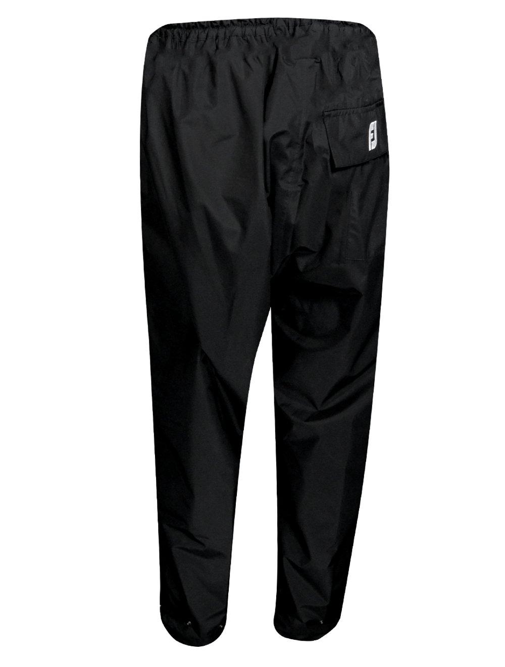 FootJoy Golf- Hydrolite Rain Pants, Black, Medium