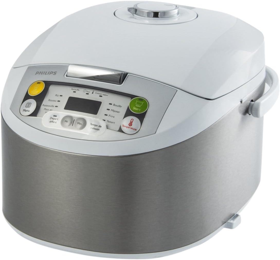 Philips HD3037/03 - Robot de cocina (12 programas de cocción, depósito de 5 l, 980 W): Amazon.es: Hogar