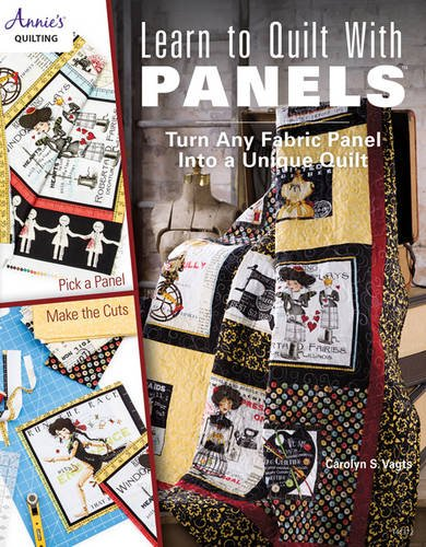 quilting books using panels - 1