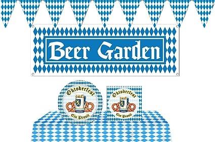 Oktoberfest Bavarian German Beer Festival Party Napkins Tableware Decoration