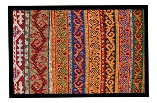 Achoka Texture 49 Paillasson Polyester Imprimé 60 x 40 x 1 cm