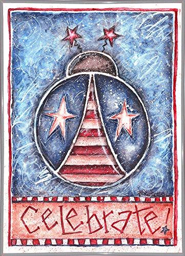 Celebrate Patriotic Ladybug-Print - USA wall art