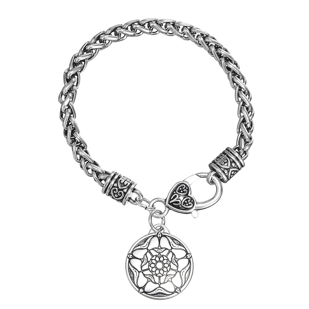 My Shape The Tudor Rose Charm Bracelet British Royal Jewelry