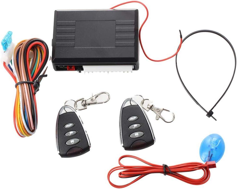 2 Remote Auto Alarmanlage KFZ Autoalarmanlage Anlage R SODIAL