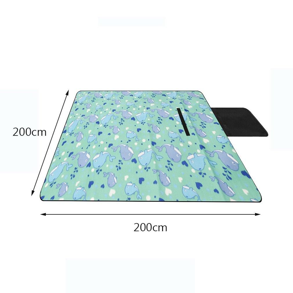 200 x 200 cm Picknick-Matte im im im Freien Picknick Zelt Durable Dicke wasserdichte Matte Zelt Pad Sommer B07DKGWM77 | Verkauf Online-Shop  cfeb00