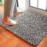 Delxo 24 x 36 Inch Magic Doormat Absorbs Mud Doormat No Odor Durable...