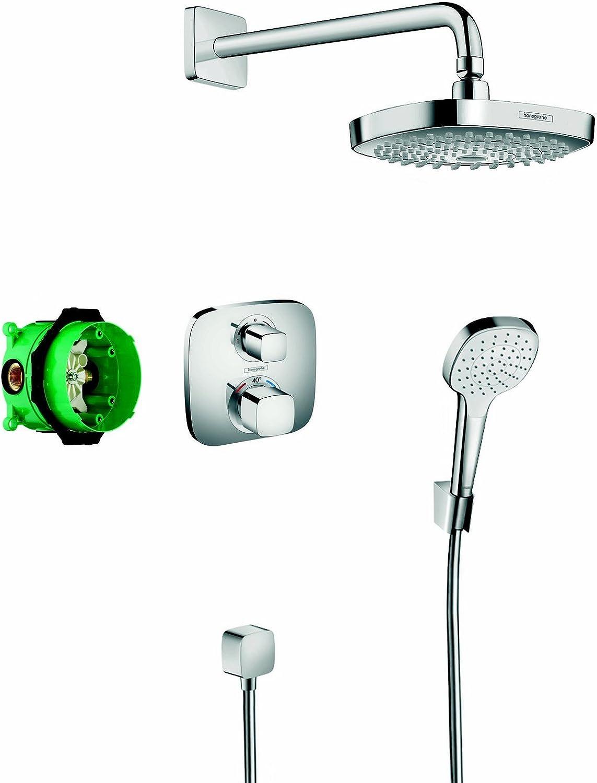 Hansgrohe - Design ShowerSet Croma Sel.E/Ecost.E: Amazon.es ...
