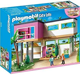 Playmobil # 5574 moderno lujoso Mansión – new-factory sellado.. HN # GG _ 634t6344 g134548ty63598: Amazon.es: Juguetes y juegos
