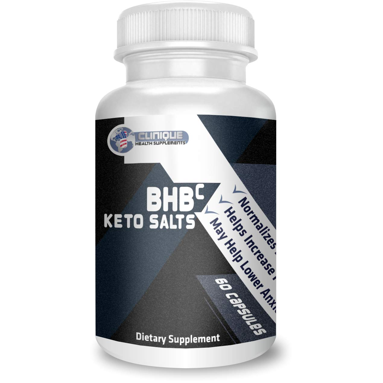 1Clinique's BHB Keto Salts | Value Pack 6 x 60 Capsules | Supports ketosis | Magnesium, Calcium, and Sodium Beta-Hydroxybutyrate | Pure Energy Source | Made in USA by 1Clinique (Image #4)