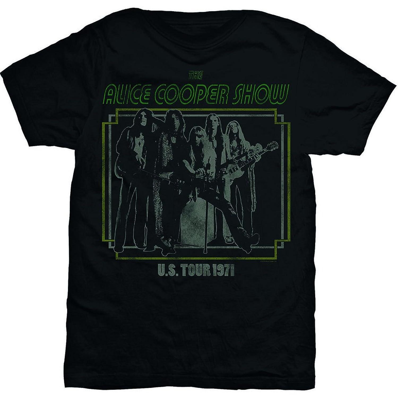 Alice Cooper Show Live 1971 Tour Rock Official Tee T-Shirt Men's Unisex