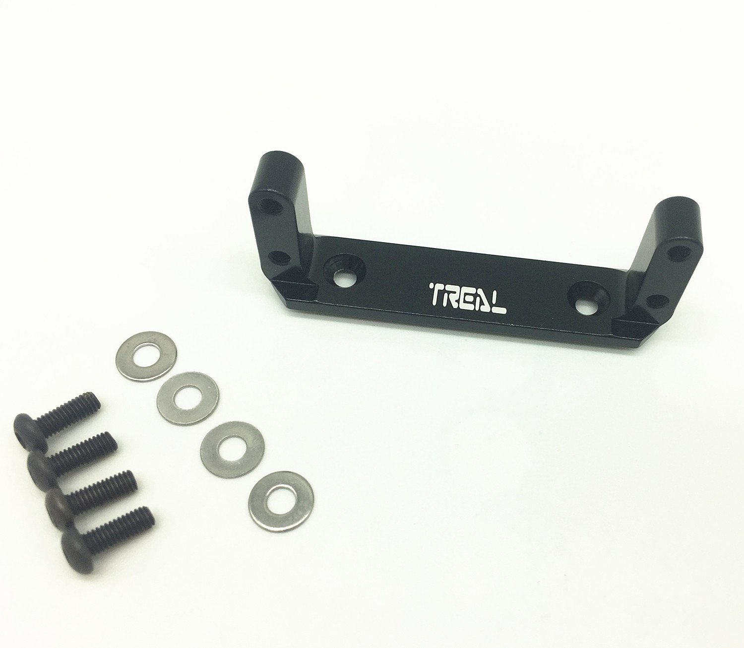 Treal Alloy Axle Servo Mount for Axial Wraith RC Model Hop-ups - Black