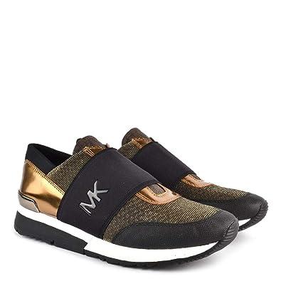 e3d6b5b9c6769 Amazon.com | Michael Kors MK Women's Glitter Chain Mesh Shoes ...