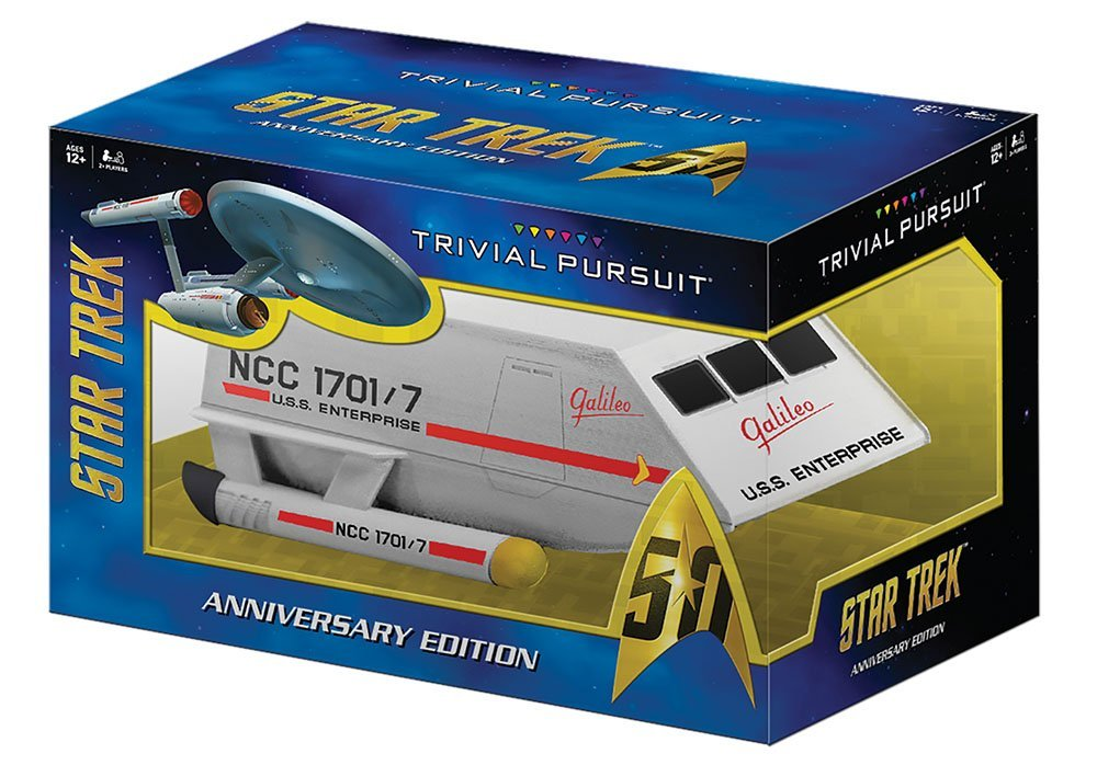 TRIVIAL PURSUIT Star Trek 50th Anniversary Edition