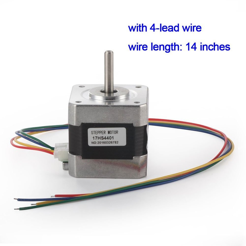 TopDirect Nema 17 Schrittmotor 1.7A 40Ncm (56.2oz.in) 2-Phasen 4 ...