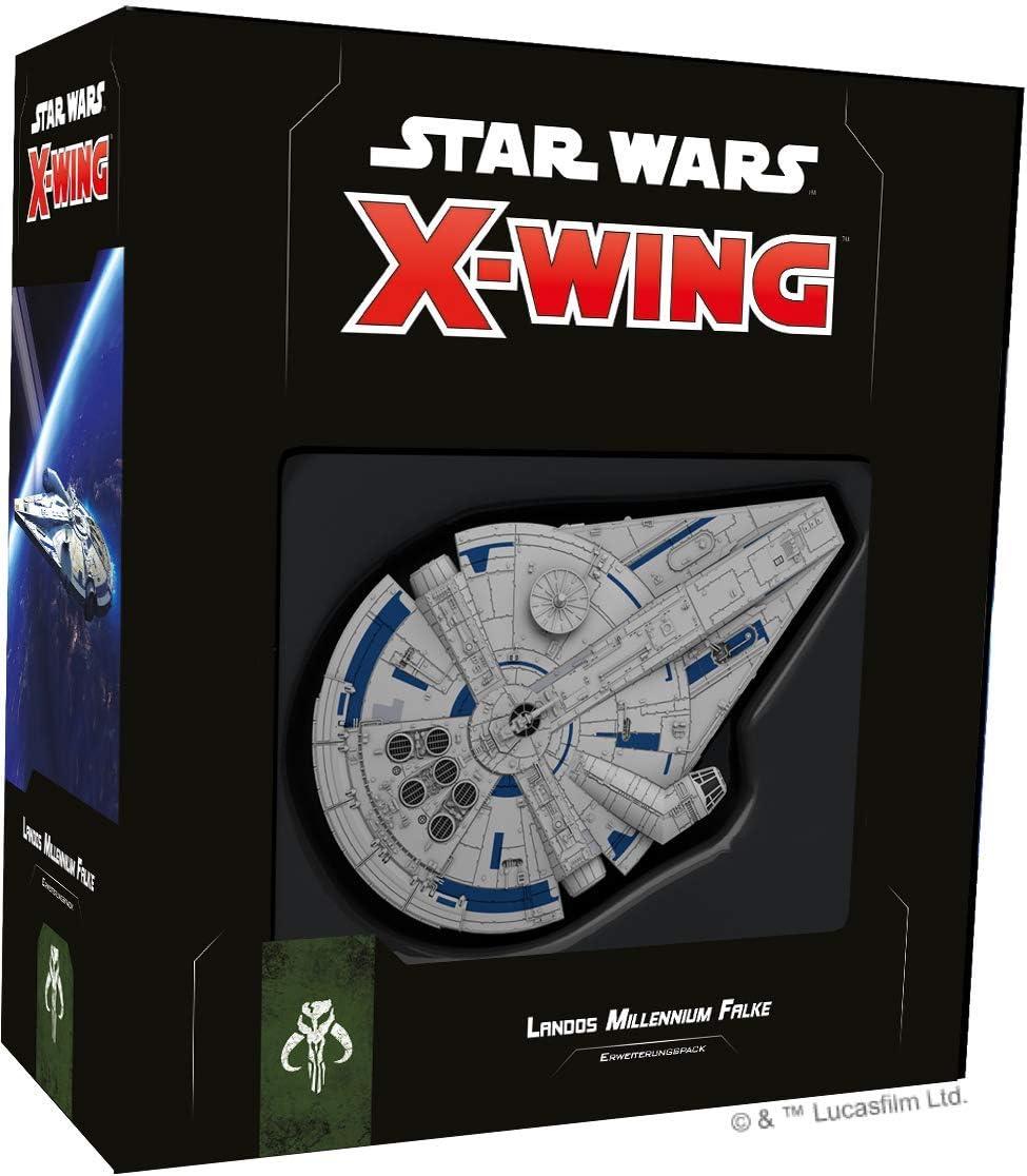 Star Wars: X-Wing 2. ed. – landos Halcón Milenario • Ampliación Pack Alemán: Amazon.es: Juguetes y juegos