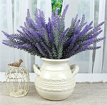 8 Bundel Schone Lila Lavender Blumenstrauss Deko Kunstliche Lavendel
