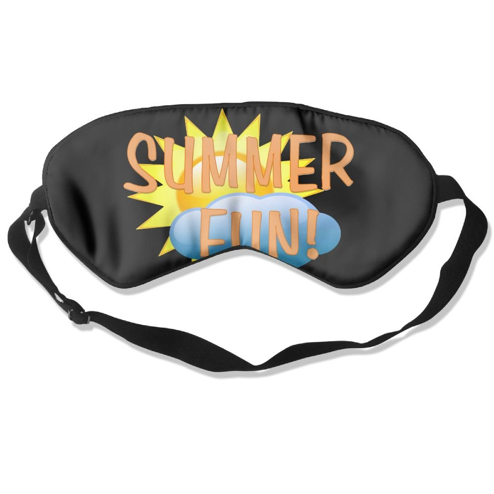 Sleep Mask Summer Fun Eye Cover Blackout Eye Masks,Soothing Puffy Eyes,Dark Circles,Stress,Breathable Blindfold For Women Men