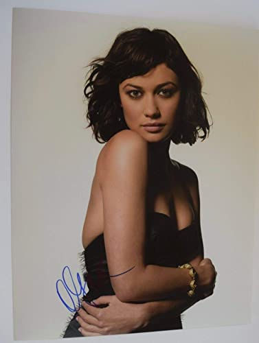 Olga Kurylenko Signed Autographed 11x14 Photo James Bond Girl Hot
