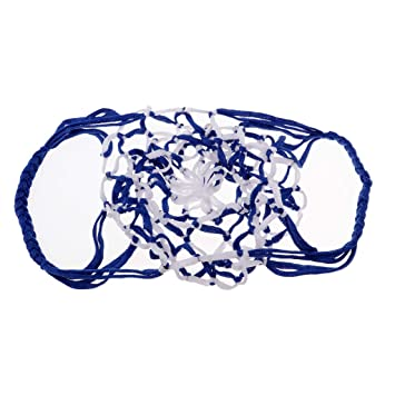 Perfeclan Handmade Football Basketball Storage Bag Mesh Equipment Draw Cord Sack,Ball Carry Net for 1 Balls