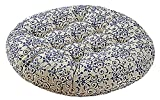 24 inch Round Stuffed Stool Chair Cushion Pad Thicken Backrest LivebyCare Filled Seat Back Cushions Insert Filling for Bedroom Sofa Couch