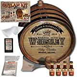 Personalized Outlaw Kit (Southern Whiskey) ''MADE BY'' American Oak Barrel - Design 103: Barrel Aged Whiskey - 2018 Barrel Aged Series (3 Liter)