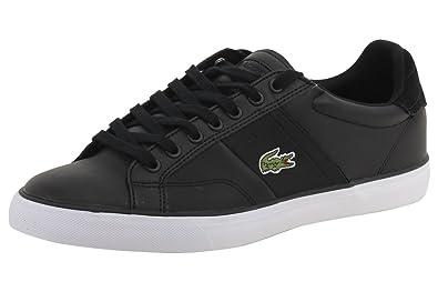 1c0c0eb5b44c0d Lacoste Men s Fairlead 316 1 Black Sneakers Shoes Sz  8