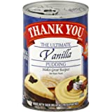 Thank You Pudding Vanilla Pudding, 15.75-Ounce (Pack of 6)