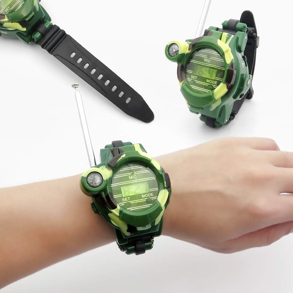 Kids Walkie Talkies, XHAIZ Long Range Walky-Talky Watch for Kids, Cool Outdoor Gifts For Boys and Girls by XHAIZ (Image #8)