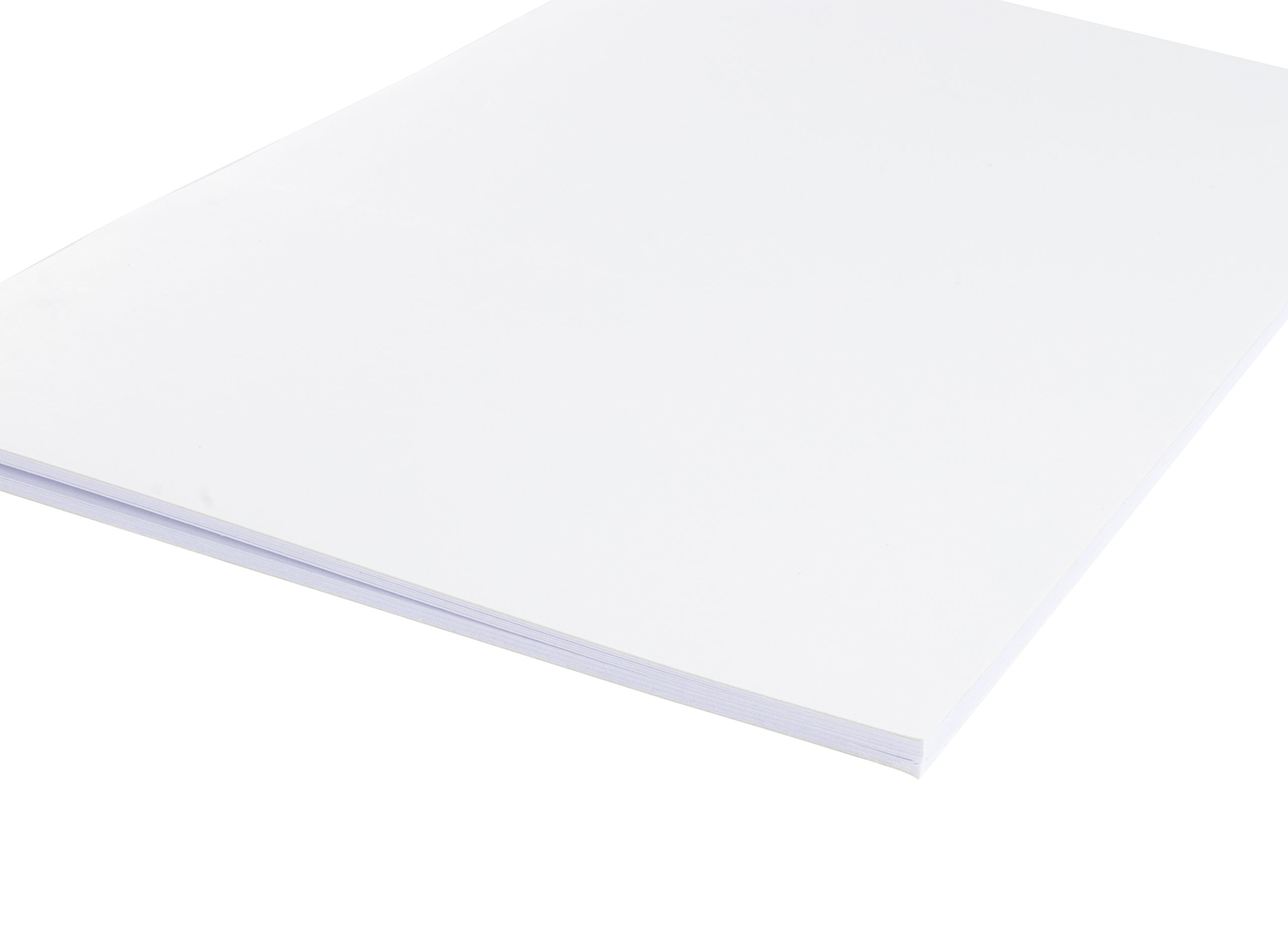 Blank Notebook - 24-Pack Unlined Books, Unruled Plain Travel Journals for Students, School, Children's Writing Books, Creative Class Project, White, 5.5 x 8.5 Inches, Half Letter Sized, 24 Sheets Each by Paper Junkie (Image #4)