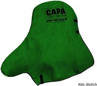 Deichselschutz british racing green für PKW Anhängerkupplung und Stützrad Deichsel Schutzhülle Abdeckung Abdeckplane