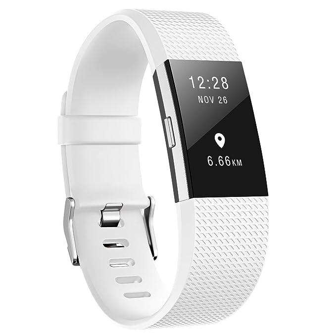 Amazon.com: Para Fitbit Charge 2 bandas, vodke deporte ...
