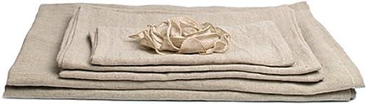 Lithuanian pure washed waffle towel linen bath big sauna towel Linen bath towel
