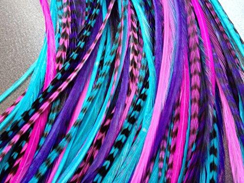Hair feather loop