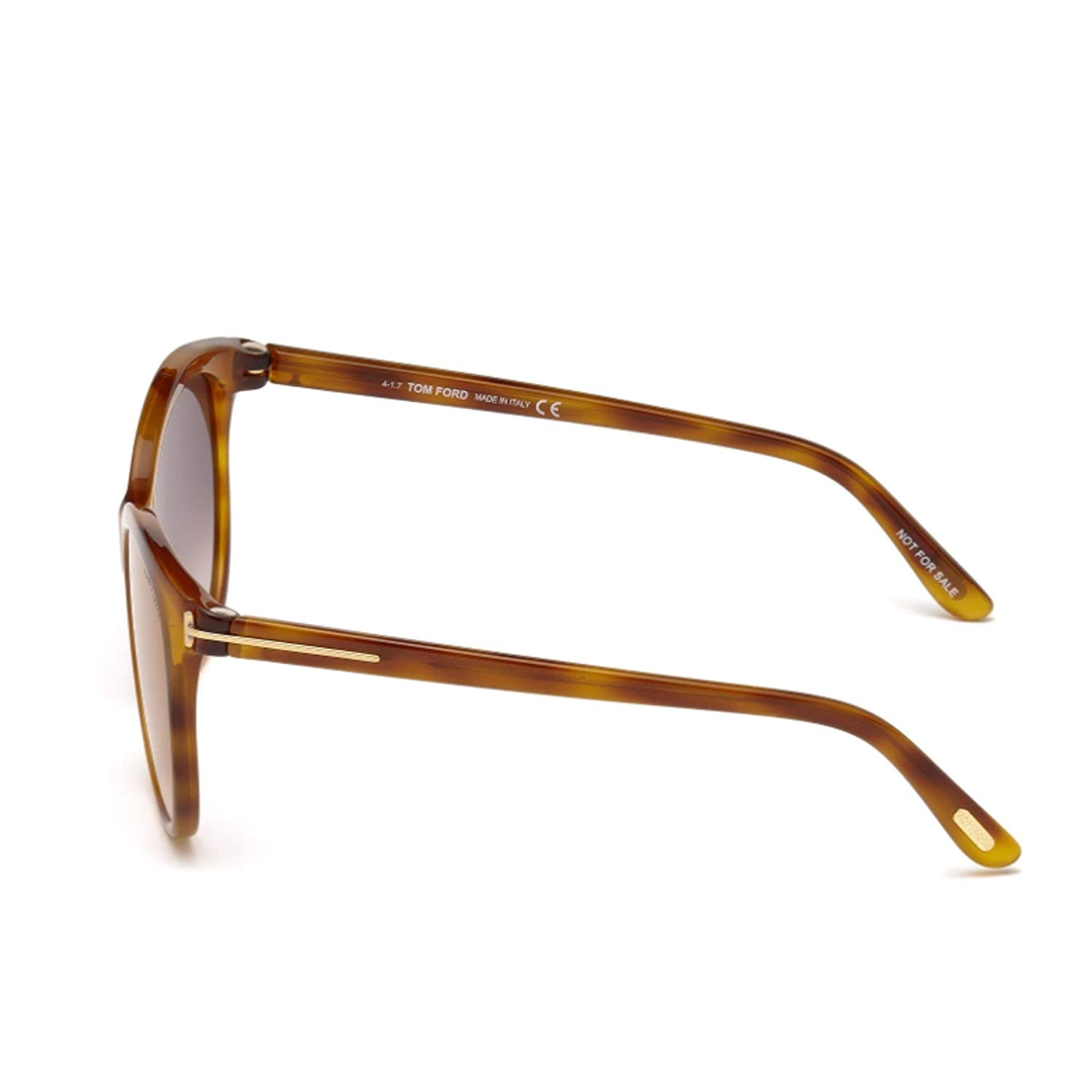 Sunglasses Tom Ford FT 0568 Geraldine Brown Mirror 02 53G Blonde Havana