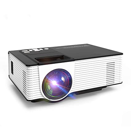Amazon.com: Home Cinema Proyector LED - Mini proyector de ...