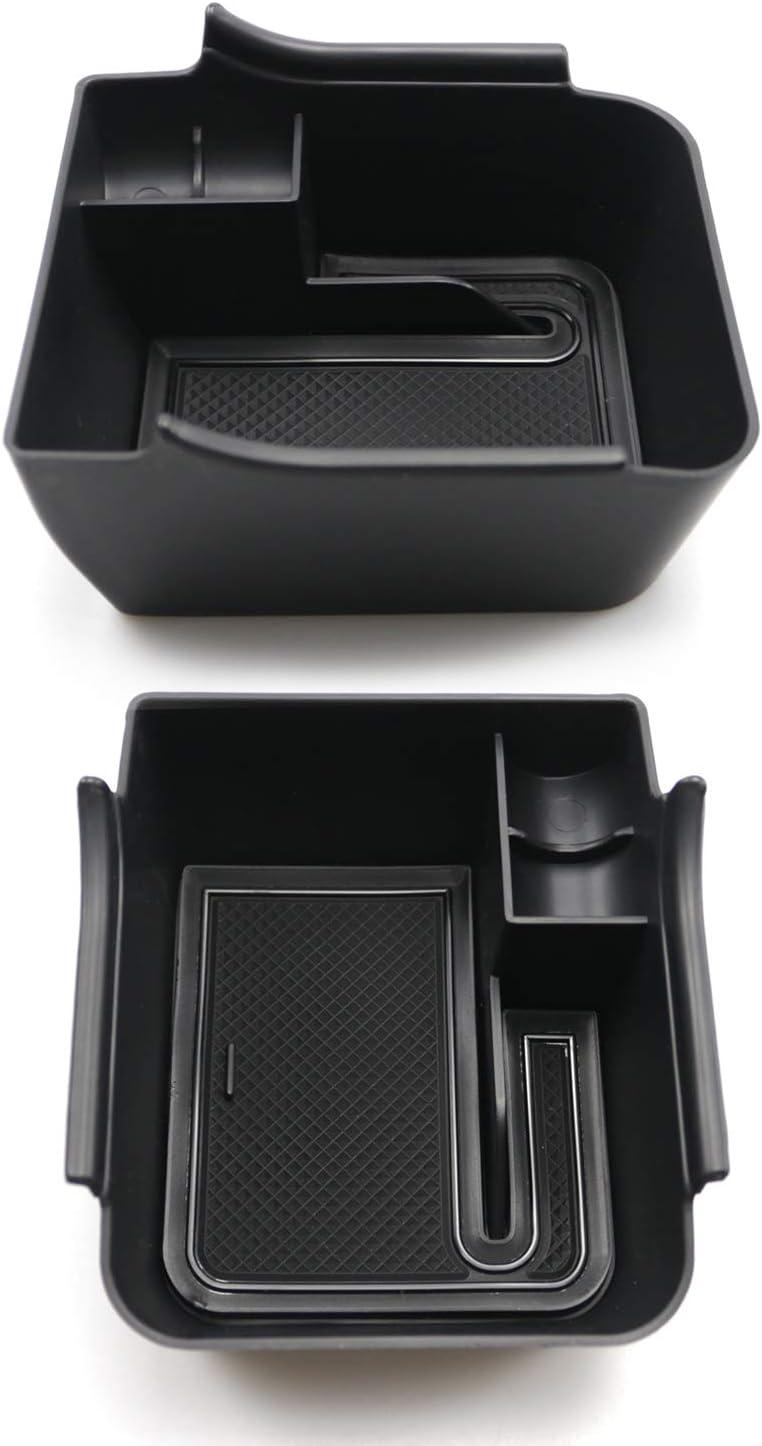 Organizer Tablett Innenausstattung Dekoration Aufbewahrungsbox f/ür Geldb/örse M/ünzen SHAOHAO Mittelkonsolen-Organizer f/ür V W Polo MK6 2018 Handy