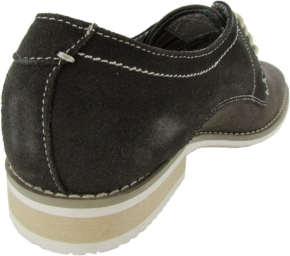 Steve Madden Mens P-Treme Lace Up Oxford Shoe