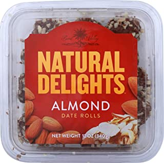 product image for Bard Valley (NOT A CASE) Natural Delights Almond Date Rolls