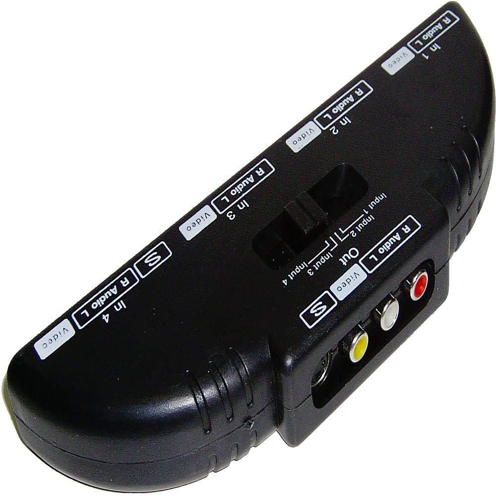4xIN//1xOUT Selettore Audio//Video BeMatik