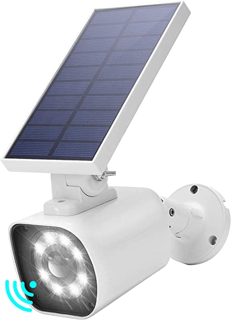 128LED Solar Power Sensor Motion Light Garden Flood Lamp Security Wall Path Lamp