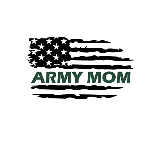 Army Dad Flag Decal,Military Family Flag,US Army Flag,US Army Dad Flag Vinyl Decal,Army Flag,Army Vinyl Decal,Thin Green Line Flag,USA Flag